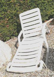 4 Terrassen Stühle dunkelbraun m