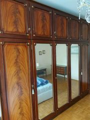 Schlafzimmer Mahagoni Schrank Kommode 2
