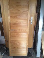 Schranktür Holztür aus Kiefer