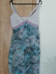 Sommerkleid mit Perlen Gr 36