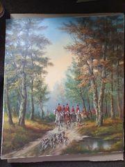 Gemälde Otto Riedel eine der