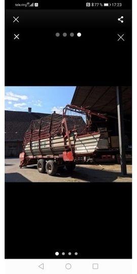 Traktoren, Landwirtschaftliche Fahrzeuge - Ladewagen Pöttinger