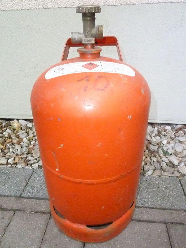 Propangasflasche Propanflasche Gasflasche Propan Gas Flasche Alt