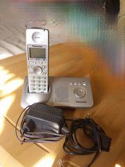 Digitales Schnurlos-Telefon mit integriertem Anrufbeantworter