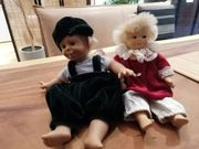 Sammler Puppen zusammen
