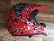 neuwertiger Moto Cross Helm Größe