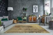 NEU Teppich Batik 240x160cm sand