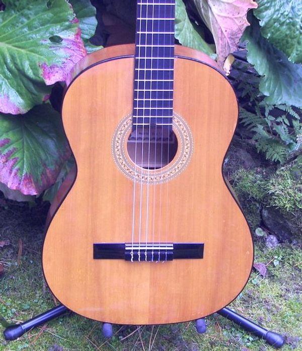 Verkaufe schöne Konzertgitarre klassische Nylonsaiten