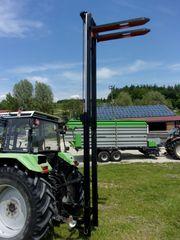 Hubmast Freisichtmast Staplermast für Traktoranbau