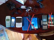 Handy Samsung Nokia Sony Ericson
