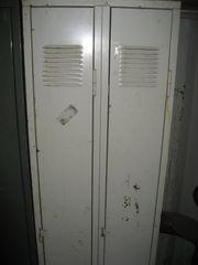 Spind Metallschrank mit 2 Türen