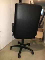 Schreibtisch Drehstuhl aus Leder