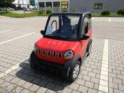 Elektroauto Leichtkraft-Fzg L7e 75km h