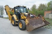 CAT 428F2 Turbo Powershift Klima
