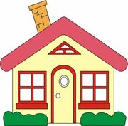 Ein Familie sucht Einfamilienhaus Reihenhaus
