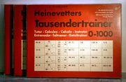 2x Heinevetters Tausendertrainer 0-1000 3