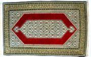 Orientteppich Ghom mit Seide 220x138
