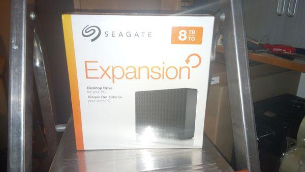 8 TB Seagate Expansion Desktop