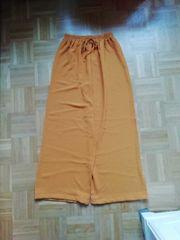 38 M Orange senffarbe Pluderhose