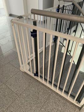 Laufställe, Hochstühle, Zubehör - Geuther Treppenschutzgitter Konfigurationsgitter für Treppe