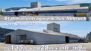 Rückbau Stahlhalle L135m x B28m