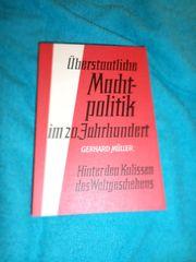 Überstaatliche Machtpolitik Im 20 Jahrhundert