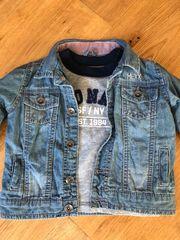 Mexx Jeansjacke mit T Shirt