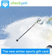 CheckYeti Voucher for Ski Resorts