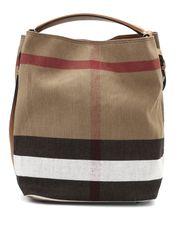 BURBERRY Beuteltasche Braun Handtasche Bag