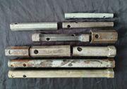 Konvolut 10 Alte Doppelsteckschlüssel - Steckschlüssel