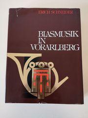Buch Blasmusik in Vorarlberg