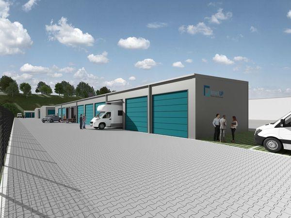 smartUP - XXL Garage Lager Halle