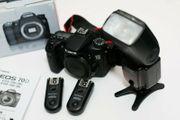 Canon EOS 70D mit viel