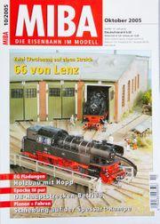 Miba-die Eisenbahn im Modell Oktober