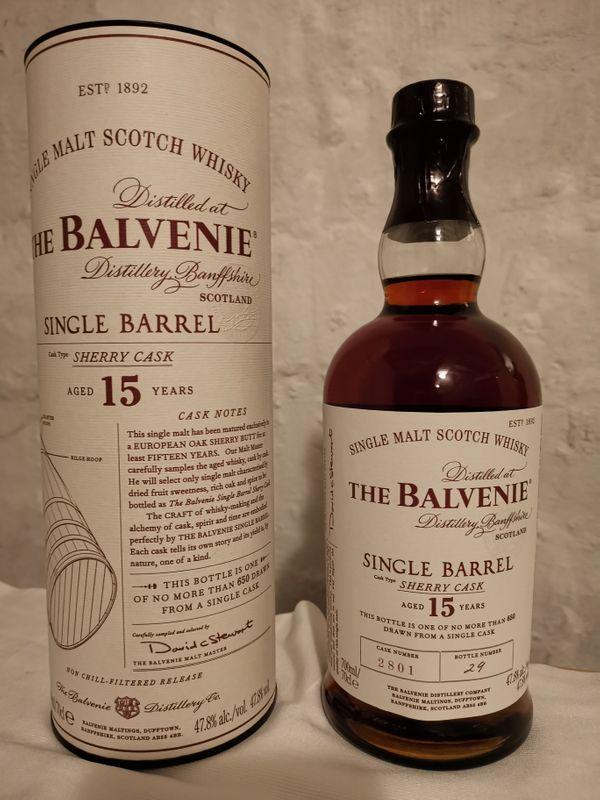 Balvenie 15 Jahre
