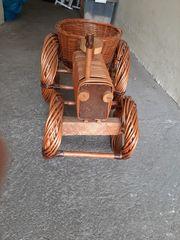 Weidenkorbtraktor