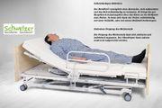 Dreh-Sitz-Bett für die Pflege Daheim
