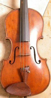 4 4 Violine Meisterarbeit aus