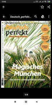 Deutsch Perfekt Zeitschriften