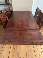 Tisch Massiv Holz Cuba Serie