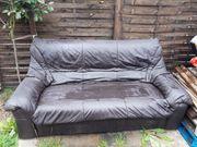 Zu verschenken Sofa Leder