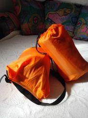 Verkaufe zweimal Airlounge orangefarben