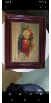 Antikes Rosenbild