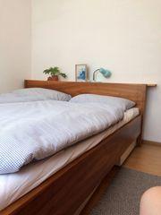 Nuss Komplett-Schlafzimmer Tischlerarbeit