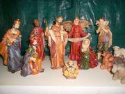 Krippenfiguren Set 11tlg aus Kunststoff