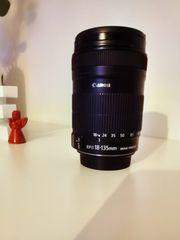 Objektiv Canon EFS 18-135 mm