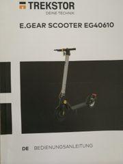 verkaufe meinen Trekstor E-Scooter mit