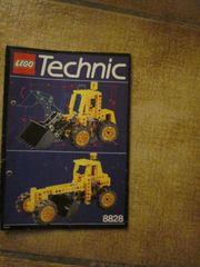 8828 Lego Technic Technik Frontschaufellader
