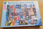 Ravensburger 1 000 Teile Buchstaben-Puzzle
