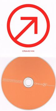 PROMO CD - Various - Crave Mix
